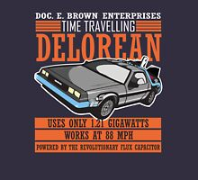 Doc E. Brown Time Travelling Delorean T-Shirt