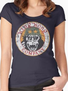 King Kong Company Women's Fitted Scoop T-Shirt