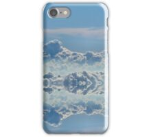 Cloudline symmetry iPhone Case/Skin