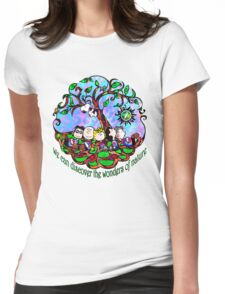 We can discover the wonders of nature Womens Fitted T-Shirt