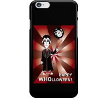 Dr Who Halloween Card 3 iPhone Case/Skin