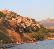 Molyvos by Mike Paget