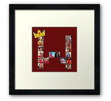 Wade-Ception Logo Framed Print