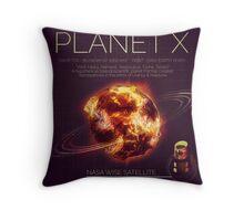 PLANET X NIBIRU INFOGRAPHIC Throw Pillow