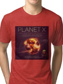 PLANET X NIBIRU INFOGRAPHIC Tri-blend T-Shirt