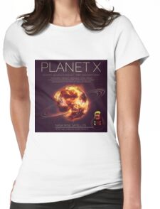 PLANET X NIBIRU INFOGRAPHIC Womens Fitted T-Shirt