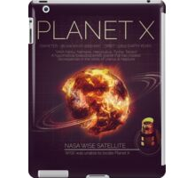 PLANET X NIBIRU INFOGRAPHIC iPad Case/Skin