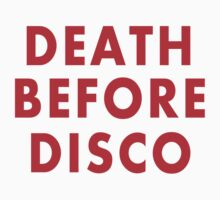 Death Before Disco Kids Clothes