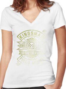 Kingsmen Women's Fitted V-Neck T-Shirt