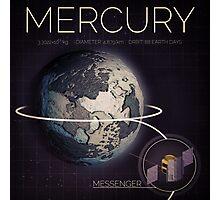 MERCURY INFOGRAPHIC Photographic Print