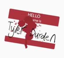 Hello my name is Tyler Durden by Christopher Johnson