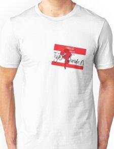 Hello my name is Tyler Durden Unisex T-Shirt