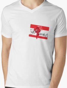 Hello my name is Tyler Durden Mens V-Neck T-Shirt
