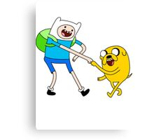 Adventure Time - Finn and Jake Canvas Print