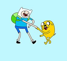 Adventure Time - Finn and Jake by DaSenpai