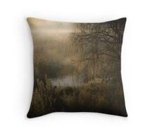 Bush and Reeds  Throw Pillow