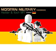 Modern Military MP7 Photographic Print