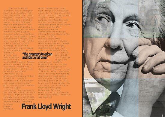 Frank L. Wright Spread (Mock) by Christina Rodriguez