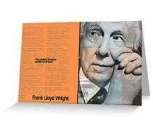 Frank L. Wright Spread (Mock) Greeting Card