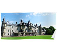 Callander House - back view, side on Poster