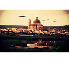 X7 UFO by Raphael Terra Photographic Print