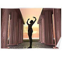 Dawn Yoga Poster