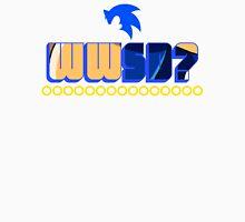 What Would Sonic Do? Men's Baseball ¾ T-Shirt