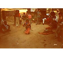 Snake Charmer in Agra Photographic Print