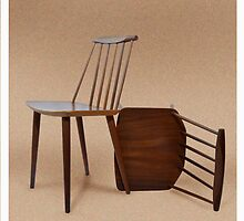 'Folke Palsson' Danish Møbler chairs by beanocartoonist