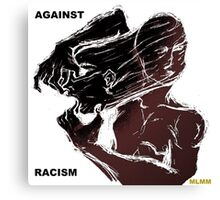 Against Racism Canvas Print
