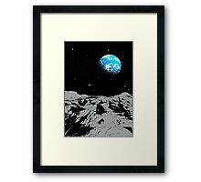 From the Moon Framed Print