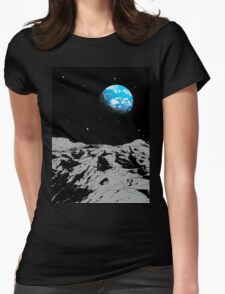 From the Moon Womens Fitted T-Shirt