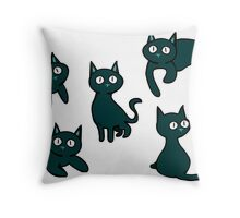 Trouble Cat Throw Pillow
