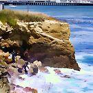 "Surf's Up - Santa Cruz by Christine ""Xine"" Segalas"