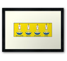 92 Leeds United Chaps Framed Print