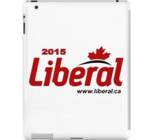 Liberal Party of Canada 2015 Logo iPad Case/Skin