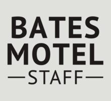 Bates Motel Employee by waywardtees