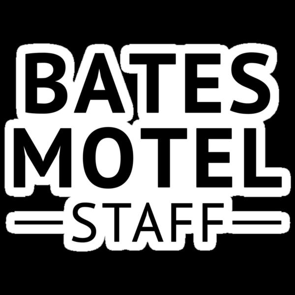 Bates Motel Employee by waywardtees