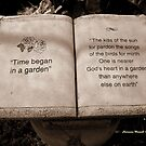 Time began in a Garden by Charmiene Maxwell-batten