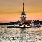 Maiden's Tower - HDR by kutayk