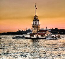 Maiden's Tower - HDR by kutayk