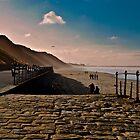 Saltburn Beach by robbtate