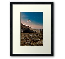 Saltburn Beach Framed Print