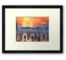 Global Warming ? Framed Print