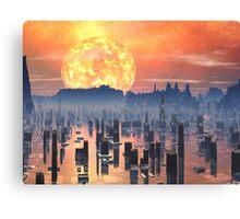 Global Warming ? Canvas Print