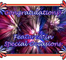Featured in Special Occasions by wolfepaw