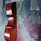 Displaced Cello. 6. by Andreav Nawroski