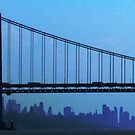 George Washington Bridge, NYC by Alberto  DeJesus