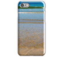 gentle soft waves lashing onto ballybunion sand iPhone Case/Skin