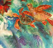 Sea Turtles by Deborah Younglao